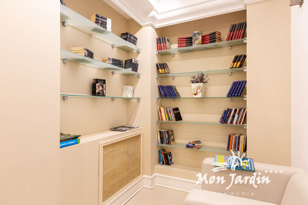Biblioteca Hotel Mon Jardin
